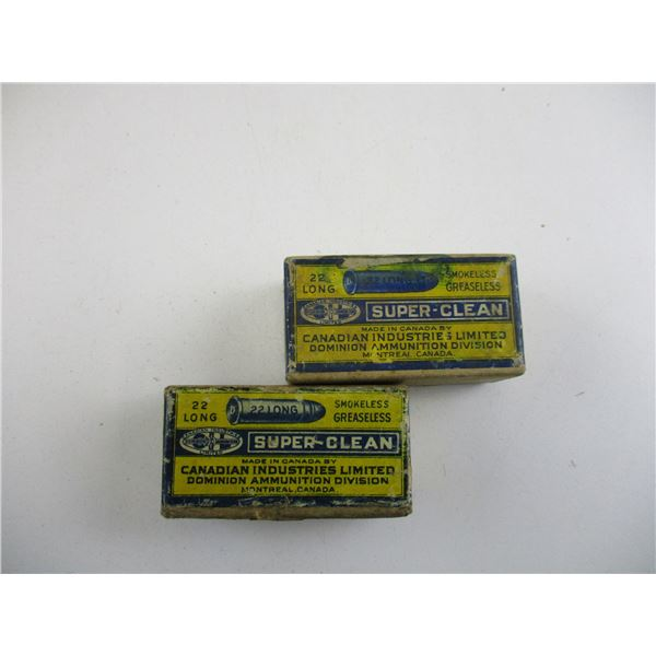 .22 LONG, COLLECTIBLE AMMO