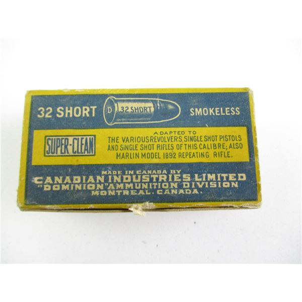 .32 SHORT, CIL COLLECTIBLE AMMO