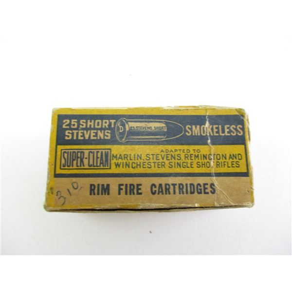 .25 STEVENS SHORT, CIL COLLECTIBLE AMMO