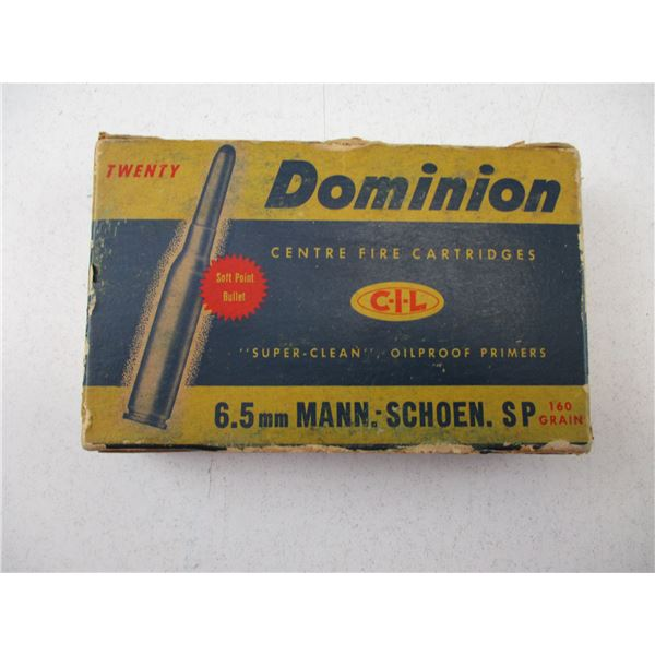6.5 MM, DOMINION COLLECTIBLE AMMO