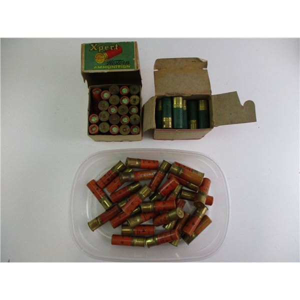 ASSORTED 12 GA COLLECTIBLE SHOT SHELL LOT