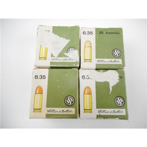 6.35MM, SELLIER & BELLOT AMMO
