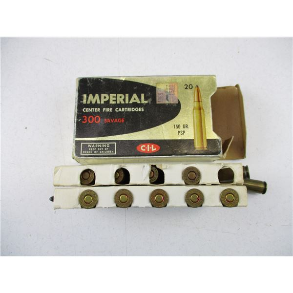 .300 SAVAGE, IMPERIAL AMMO