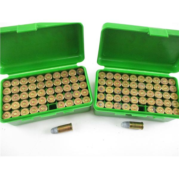 ASSORTED .38 SMITH & WESSON AMMO