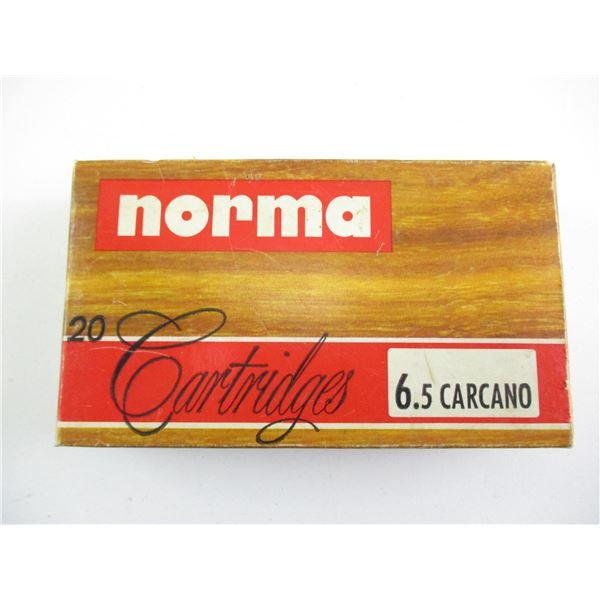 6.5 CARCANO, NORMA AMMO
