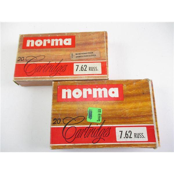 7.62 RUSS, NORMA AMMO