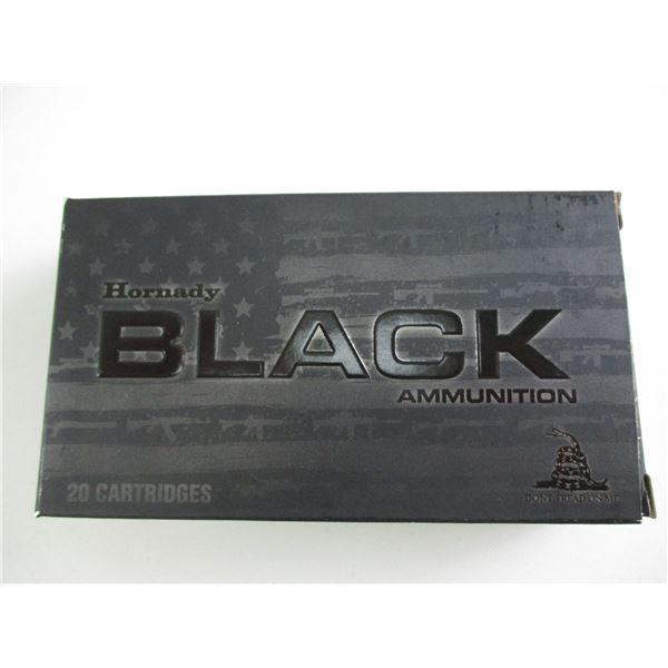 6MM CREEDMOOR, HORNADY BLACK AMMO