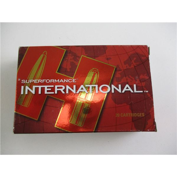 7X65R, HORNADY SUPERFORMANCE INTERNATIONAL AMMO