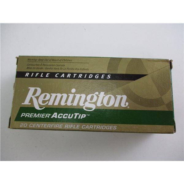 .204 RUGER, REMINGTON PREMIER ACCUTIP AMMO