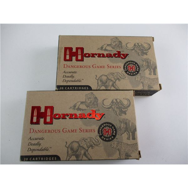 .416 RUGER, HORNADY DANGEROUS GAME SERIES AMMO