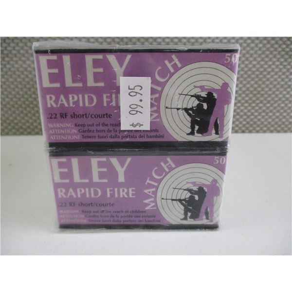 .22 RF SHORT, ELEY RAPID FIRE AMM0