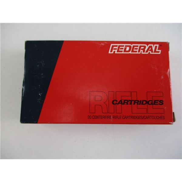 6.5X55MM, FEDERAL TARGET PRACTICE AMMO