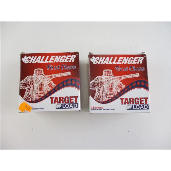 ASSORTED 12 GA, CHALLENGER SHOT SHELLS