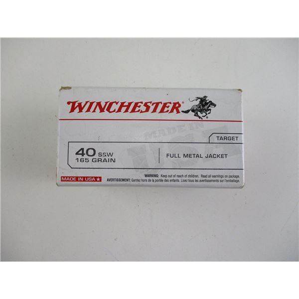 40 S&W, WINCHESTER AMMO