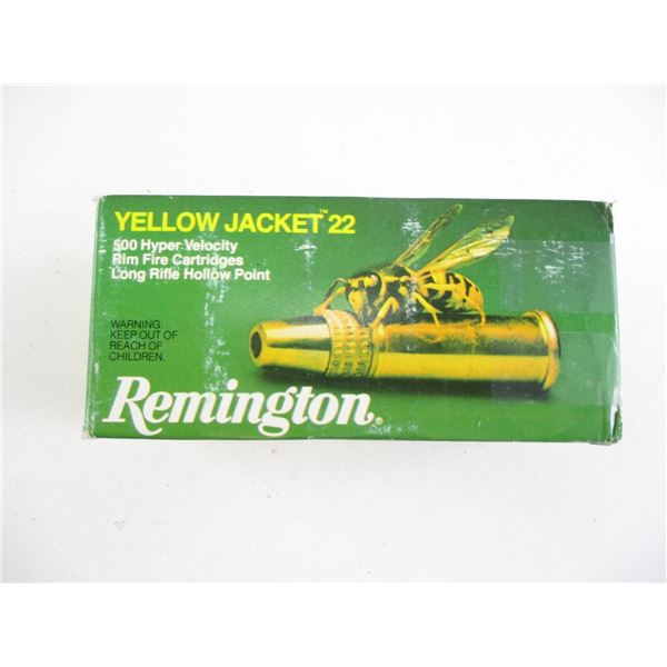 YELLOW JACKET 22, REMINGTON AMMO