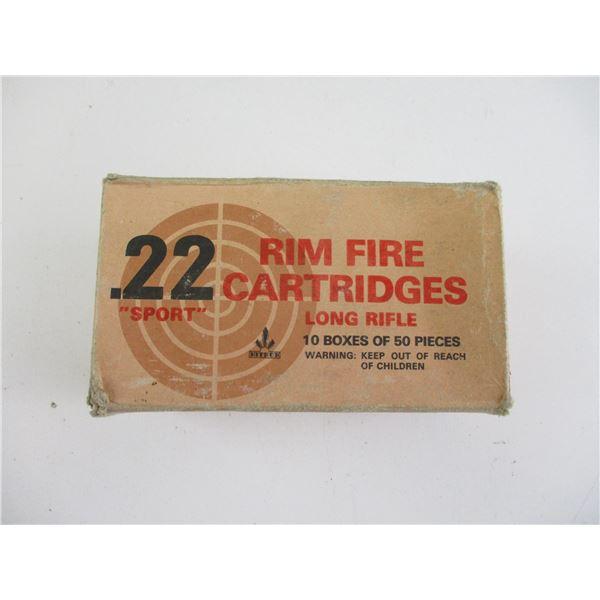 22 RIM FIRE, SPORT AMMO