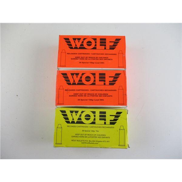 38 SPL, WOLF AMMO