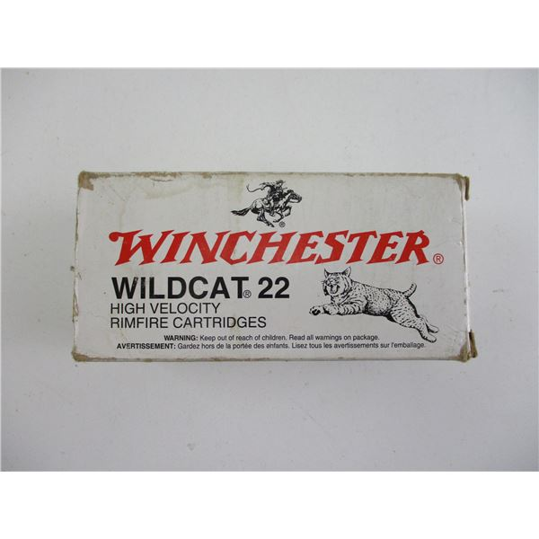 WILDCAT 22, WINCHESTER AMMO