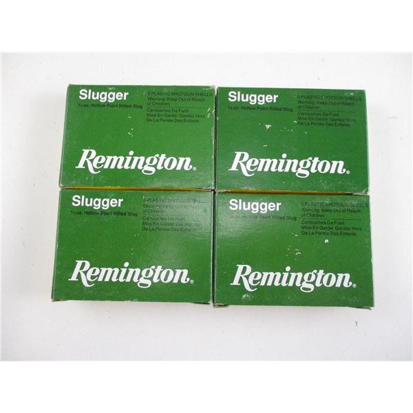20 GA, REMINGTON SLUGS