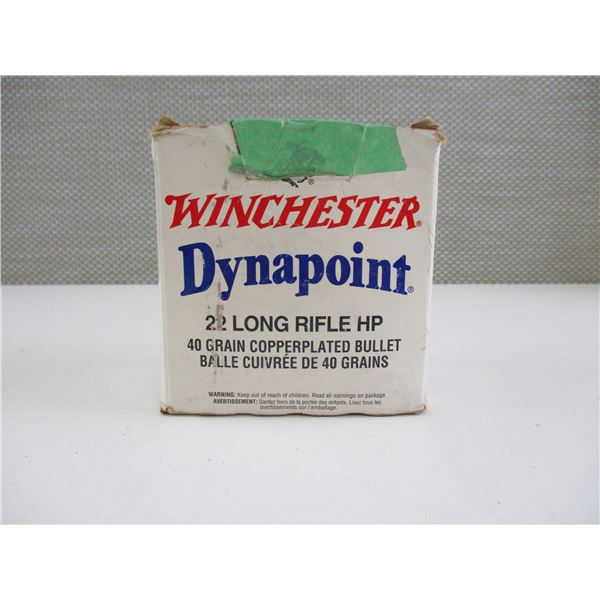 22 LONG, WINCHESTER AMMO
