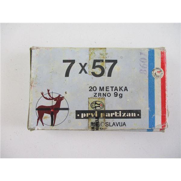 7X57 MAUSER AMMO