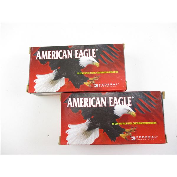 9MM LUGER, AMERICAN EAGLE AMMO