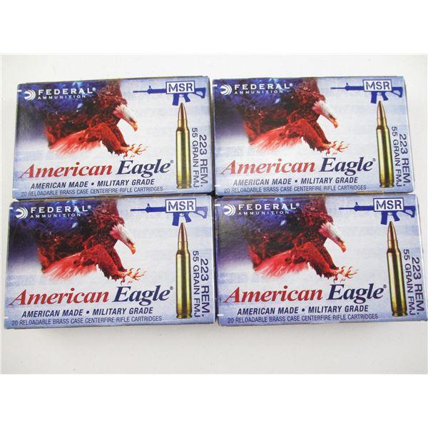 223 REM, AMERICAN EAGLE AMMO