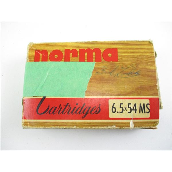 6.5X54 MS, NORMA AMMO