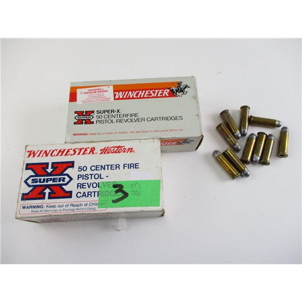 ASSORTED .38 SPECIAL, WINCHESTER AMMO