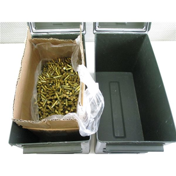 ASSORTED LOT INCLUDING AMMO TINS, .22 AMMO
