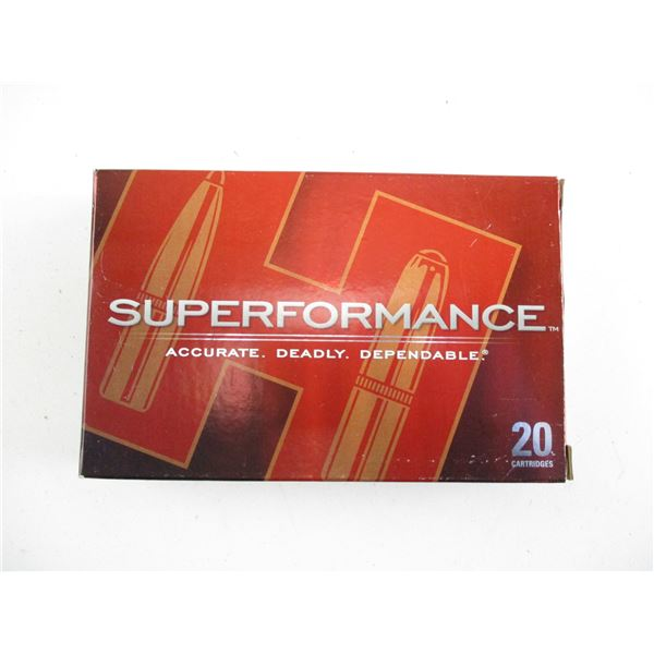 6.5X55MM, HORNADY SUPERFORMANCE AMMO