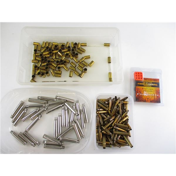 FEDERAL 209 PRIMERS & ASSORTED BRASS