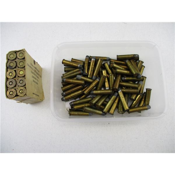 ASSORTED MILITARY AND SPORTING AMMO LOT