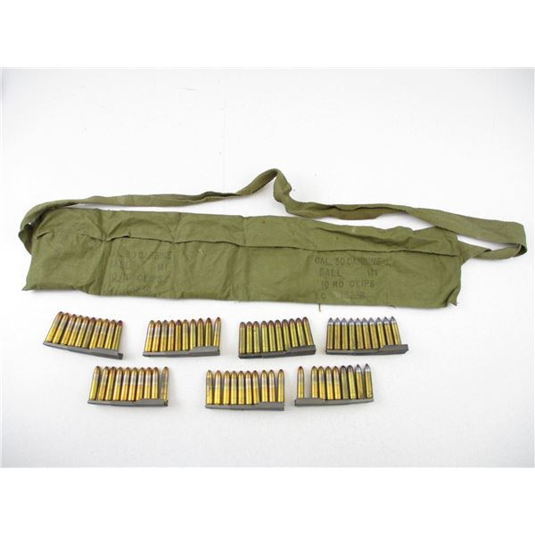.30 M1 CARBINE, RELOADED AND FACTORY AMMO