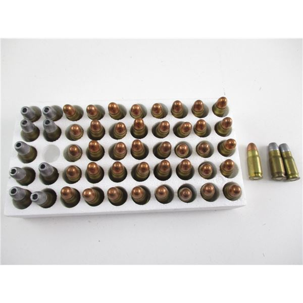 ASSORTED .30 LUGER RELOADED AND FACTORY AMMO
