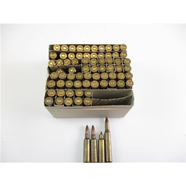 ASSORTED .270 WIN, RELOADED AMMO