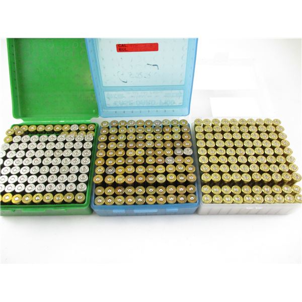ASSORTED .357 MAG, RELOADED AMMO LOT