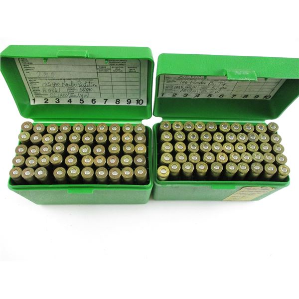 ASSORTED .270 WIN, RELOADED AMMO LOT