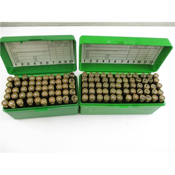 ASSORTED .243 WIN, RELOADED AMMO