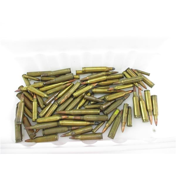 ASSORTED SMALL CALIBER RELOADED AMMO