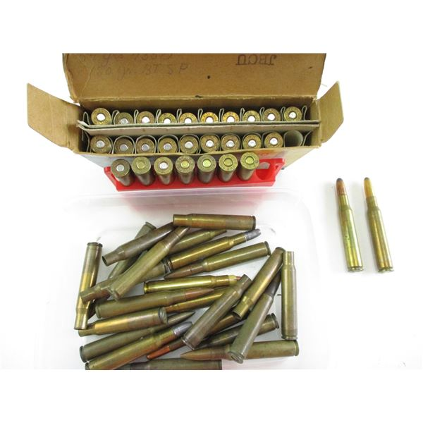 .30-06 ASSORTED RELOADED AMMO LOT