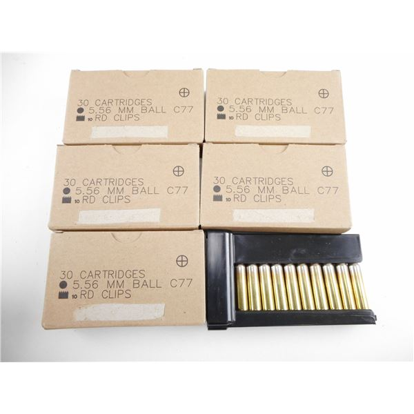 5.56MM BALL, CANADIAN MILITARY AMMO