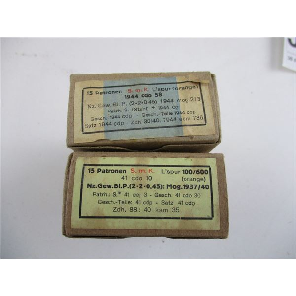 8MM MAUSER, TRACER MILITARY AMMO