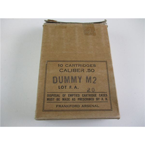 .50 M2, WWII US DUMMY RNDS