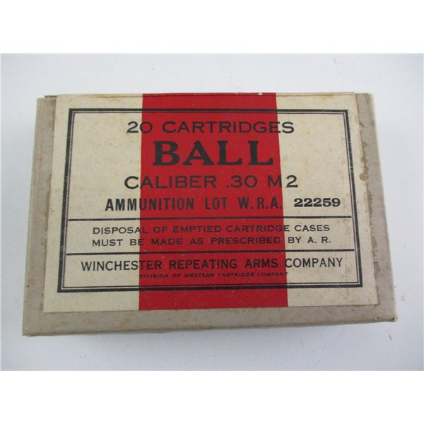 .30 M2, WINCHESTER MILITARY AMMO
