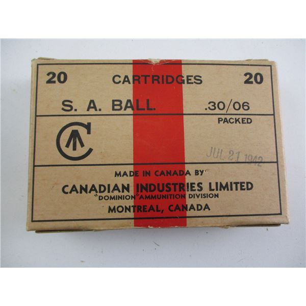 30-06 CAL, CANADIAN MILITARY AMMO
