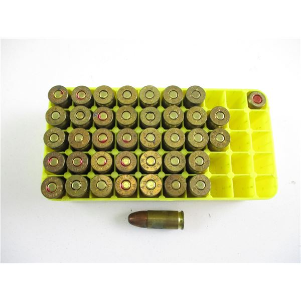 ASSORTED 9MM MILITARY RNDS
