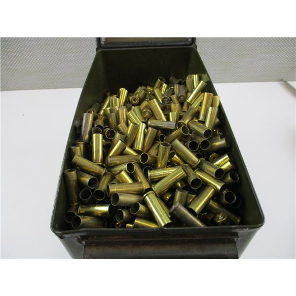 ASSORTED .38 SPECIAL, BRASS AND NICKEL CASES