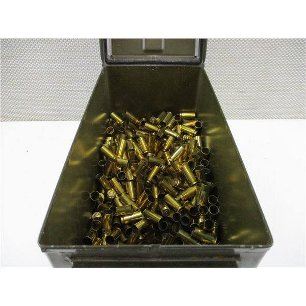 ASSORTED 10MM AUTO, BRASS AND NICKEL CASES