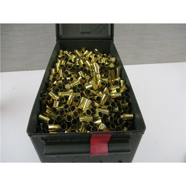 ASSORTED 9MM LUGER BRASS CASES